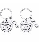2 Pieces 2019 Graduation Gifts Keychain Inspirational Graduates Gifts fo... - $7.65