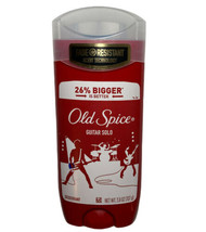 Old Spice Guitar Solo Deodorant Stick Rare Long Lasting High Endurance 3.8 Oz - $15.83