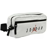 New NIKE JORDAN Jumpman White Waist Fanny Pack Belt Crossbody Bag 9a0201... - $39.99