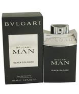 Bvlgari Man Black Cologne Eau De Toilette Spray 3.4 Oz For Men  - $82.28