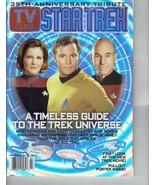 2002 TV Guide Star Trek 35th Anniversary Edition Sci Fi Janeway - Kirk -... - $9.50