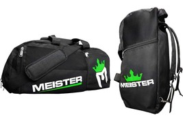Meister Vented Convertible Duffel/Backpack Gym Bag - Ideal Carry-On - Bl... - $68.02 CAD