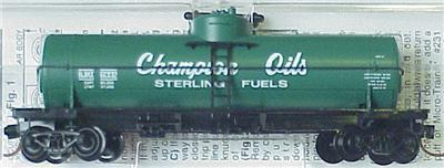 Micro Trains 65490 Champion Oil Tank Car 6002