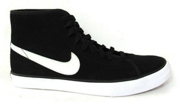 NIKE PRIMO COURT MID SUEDE WOMEN'S BLACK/WHITE SNEAKERS Size10, #630656-091 - $49.99