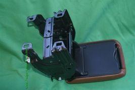 08-14 Audi A5 Sliding Leather Armrest Center Console Lid Cover image 5