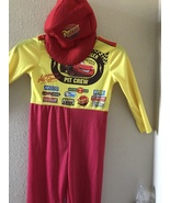 Cars  with hat Costume  Boys Child Small 4-6  - $13.00