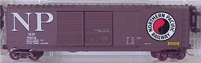 Micro Trains 37050 NP 50' Boxcar 7813