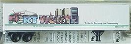 Micro Trains 67160 BN Intermodal Trailer FORT WORTH - $24.25