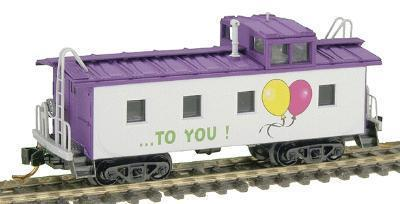 Micro Trains 10000270 Happy Birthday 36' Caboose