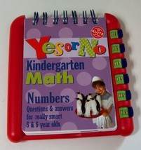 Klutz Yes or No Series Kindergarten Math Numbers - $9.00