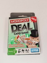 Monopoly Deal Card Game Parker Brothers Hasbro New Open Box Contents Sealed - $6.88
