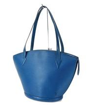 Auth LOUIS VUITTON Saint Jacques Large Blue Epi Leather Shoulder Bag #31610 - $438.72 CAD