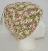 John Deere LP67784 Green White Pink Brown Knitted Hat Acrylic image 3