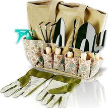 Scuddles Garden Tools Set - 8 Piece Heavy Duty Gardening Kit with Storag... - £34.58 GBP