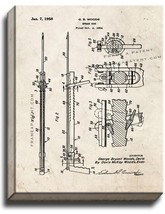 Spear Gun Patent Print Old Look on Canvas - $39.95+