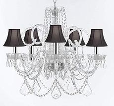 Made with Swarovski Crystal Murano Venetian Style Chandelier Crystal Lig... - $326.33