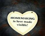 Plaque heart homemaking thumb155 crop