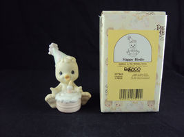Precious Moments 527343, Happy Birdie, Issued 1992, Suspended 1996 - $14.95