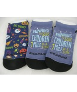 Brooks Pacesetter Tab Womens Running Socks 3 Pair Size 9-11 Run Happy - $12.86