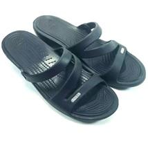 CROCS Womens Sandals Size 11 M Black - $21.37