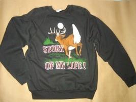 Sweatshirt Hunter Black Unisex Xl Extra Large Nwot - $30.00
