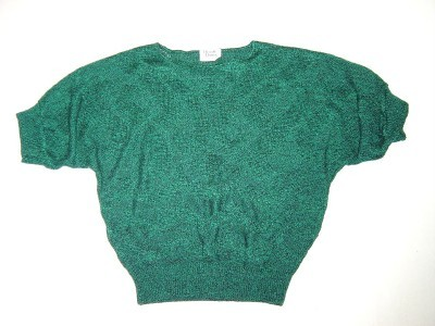 WOMEN LADIES LADIES HERALD HOUSE SWEATER TOP M MED GREEN BLA Bonanza