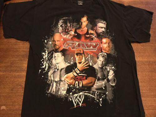 Primary image for Raw WWE T-shirt Cena XL