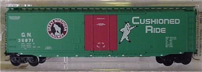Micro Trains 32340 Great Northern 50' Boxcar 36871
