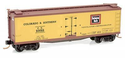 Micro Trains 04900370 Colorado & Southern 50055