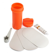 3Pcs PVC Ellipse Patches Glue Wrench Container For Inflatable Boat Repai... - $11.57