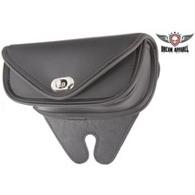 Plain Black PVC Motorcycle WATERPROOF Windshield Bag for HARLEY DAVIDSON - $40.19
