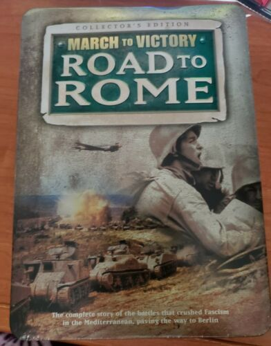 Primary image for Road to Rome: March to Victory (DVD, 2008, 5-Disc Set, Collectors Tin Packaging)