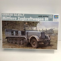 Trumpeter 1/35th Scale German Sd Kfz 7 Early Version Kit No. 01514 Parti... - $23.94