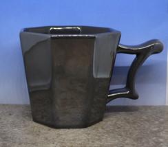 Starbucks 2013 Metallic Grey Gray Octagon Shiny Coffee Mug Cup 14oz 414ml (B) - $23.89