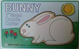 "Fox Run Metal 7"" Bunny Cookie Cutter - $4.77"