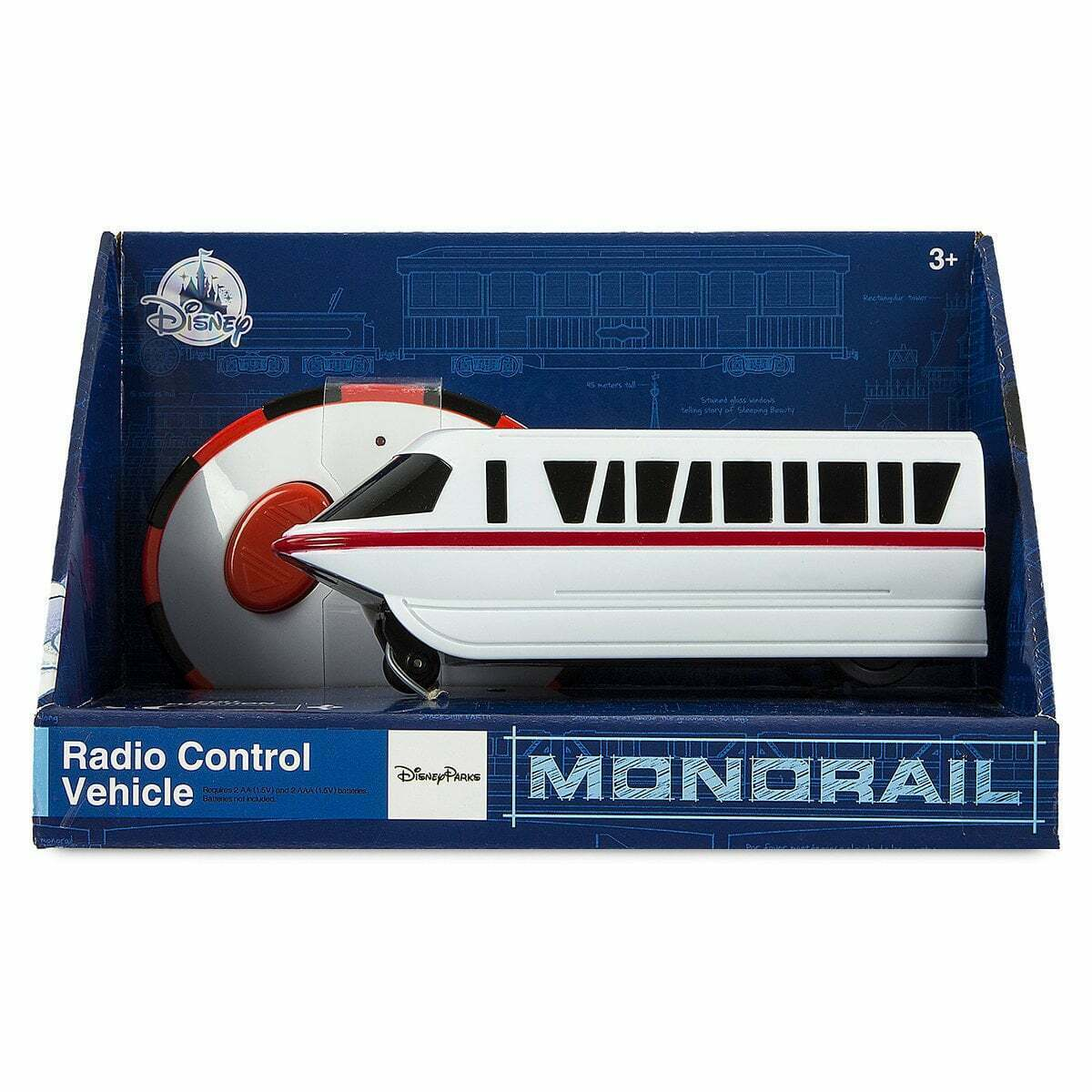 Disney World Monorail Radio Control Toy Vehicle, NEW - $28.00