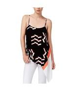 Rachel Rachel Roy Women's Printed Sleeveless Top Black Size XS - $34.16