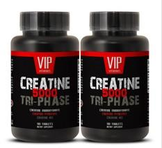creatine tablets - Creatine Tri-Phase 5000mg - increase endurance 2B - $28.01