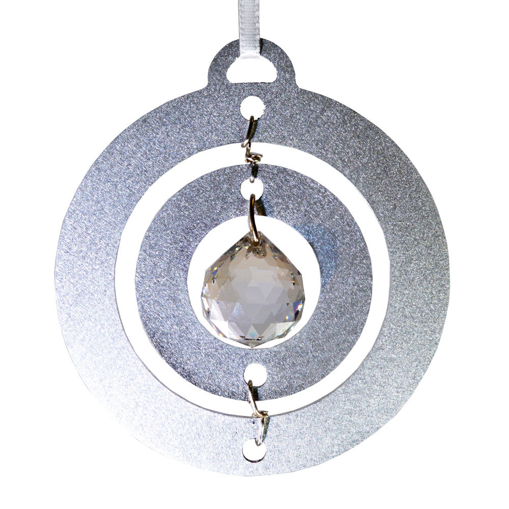 Crystal ball ornament al3dcir aqp060 02