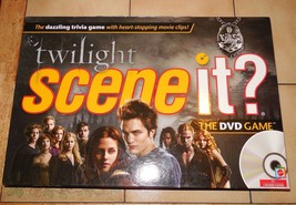 2009 Mattel Twilight Scene It DVD Game 100% Complete - $9.50