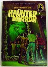 Three Investigators Secret of the Haunted Mirror 1st Print pb Alfred Hit... - $11.50