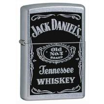 Zippo Jack Daniel's Label  Windproof Lifetime Guarantee Made USA 24779 W... - $24.74
