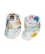 Preemie & Newborn Boys Zoo Booties for Babies  - $9.00