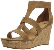 UGG Australia Women's Whitney Wedge Sandal (10|Chestnut) - €65,42 EUR