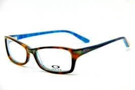 New Oakley Short Cut OX1088-0153 Tortoise Plaid Eyeglasses Authentic Frame 53-15 - $102.85