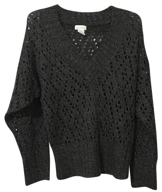 Primary image for Charlotte Russe Accent V Neck Knitted Medium Sweater M
