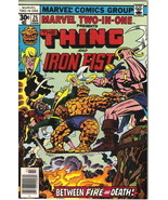 Marvel Two-In-One Comic Book #25 The Thing and Iron Fist Marvel 1977 VER... - $4.99