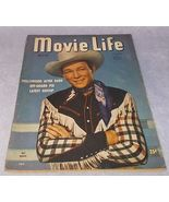 Movie life Magazine March 1947 Roy Rogers Cover Clark Gable Lucille Ball - $11.95