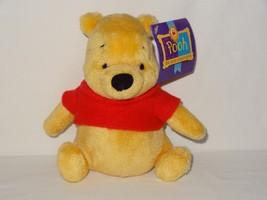 GUND The 100 Acre Collection Winnie the Pooh Bear Stuffed Animal Plush 7... - $9.99