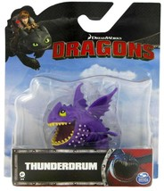 Dreamworks Dragons Mini Thunderdrum Figure Spin Master - $6.00